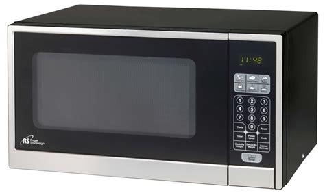 stainless steel countertop microwave royal sovereign 1 1 cu ft countertop microwave in black