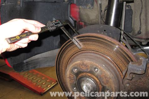bmw  brake rotor specification checking bmw