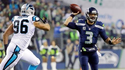 game recap seahawks  panthers  stats info espn