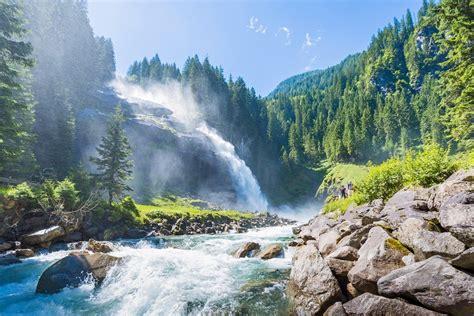 Krimml Worlds Water Waterfalls Hotel Saalbacher Hof
