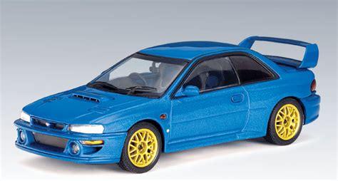 subaru autoart autoart subaru impeza 22b metallic blue 58601 in 1 43