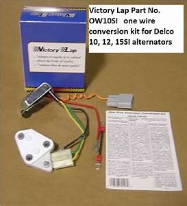 One Wire Alternator Conversion Kit Ow10si