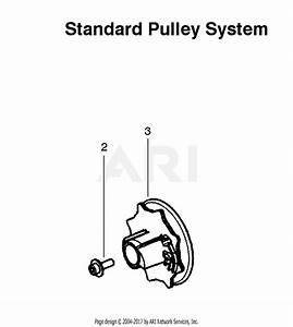 Poulan P3314 Gas Saw Type 2 Parts Diagram For Standard