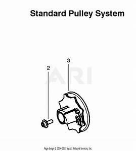 Poulan P3314 Gas Saw Type 1 Parts Diagram For Standard