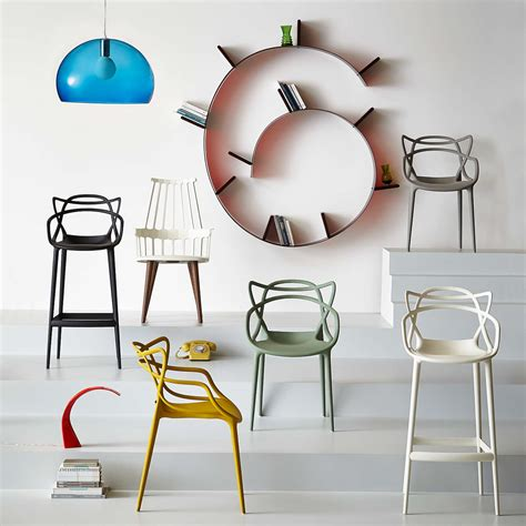 Philippe Starck for Kartell Masters Bar Chair at John Lewis