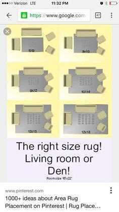 decorating ideas area rug rules  size  colour