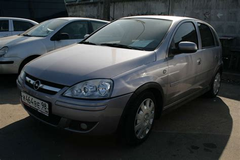opel corsa 2006 2006 opel corsa pictures 1200cc automatic for sale
