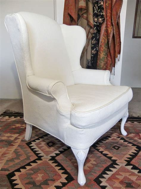 wingback chair slipcover wingback chair slipcover in pattern matelasse by