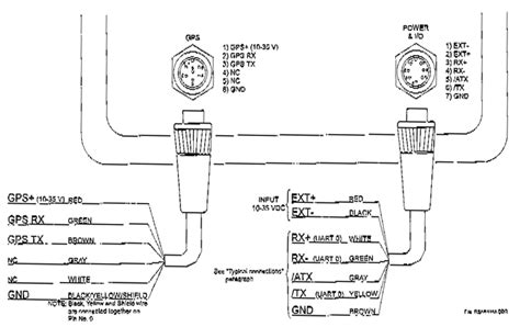 Standard Horizon Wiring Diagram by Seiwa Oyster 8 Inches Color Chartplotter