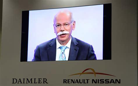 renault nissan alliance  daimler expand cooperation