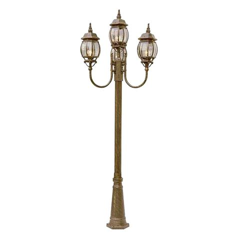 outdoor decorative pole lights bel air lighting cabernet collection 4 light 96 in