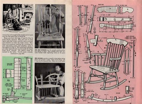 desk do it yourself rocking chair plans diy