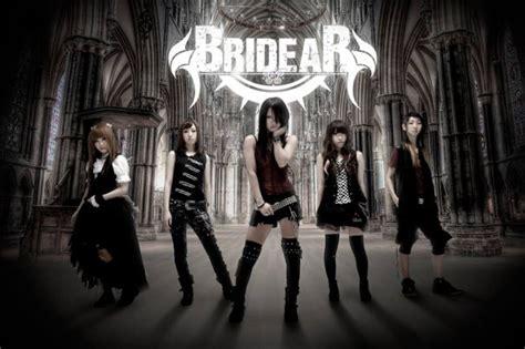 band introduction  female japanese metal band bridear