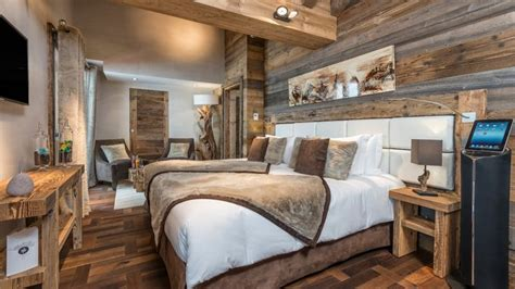 chambre style montagne l intérieur décoré façon montagne ça nous gagne