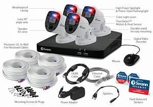 Enforcer 4 Camera 8 Channel 4k Ultra Hd Dvr Security System Uk