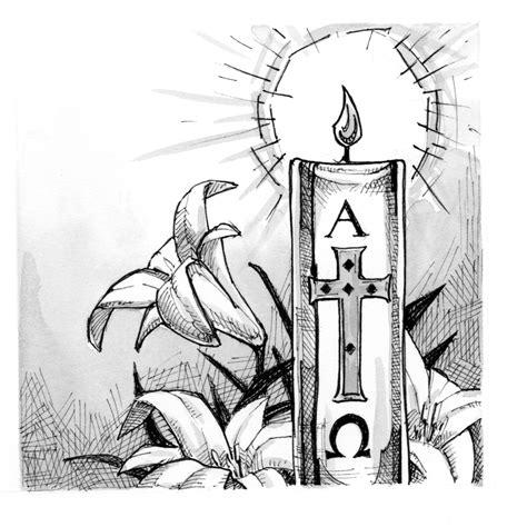 signs  symbols paschal candle saint marys press