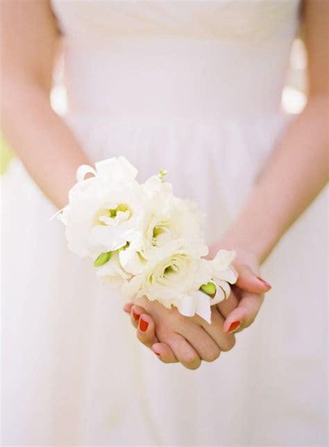 diy wrist corsage weddings corsages pinterest