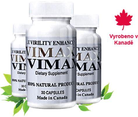 vimax certifikovaný prodej pro čr a sr