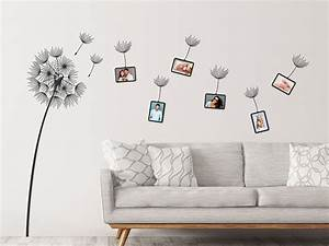 Wandtattoo Pusteblume Weiß : wandtattoo pusteblume mit fotorahmen ~ Frokenaadalensverden.com Haus und Dekorationen