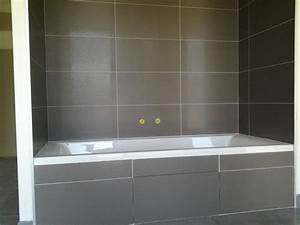 pose de faience salle de bain joints blanc With pose de faience salle de bain
