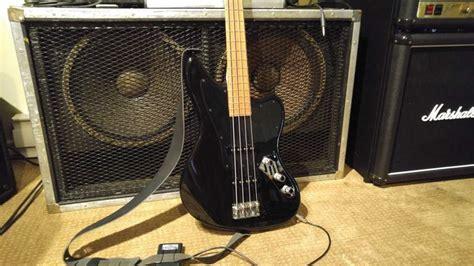 squier vintage modified jaguar bass special  precision