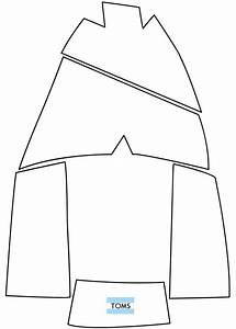 Shoe Box Pattern Toms Template Really Really Really Want To Try Making A