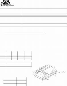 First Alert Fa220kp Keypad Installation And Setup Manual