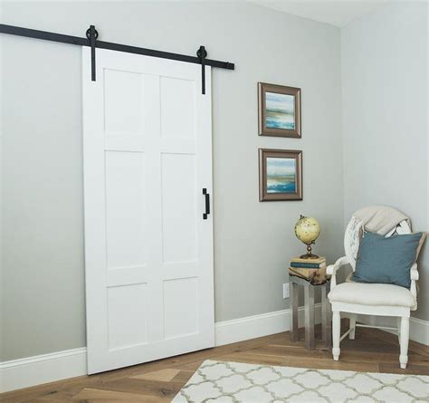 Our Classic 6panel Sliding Barn Door Is Timeless Built