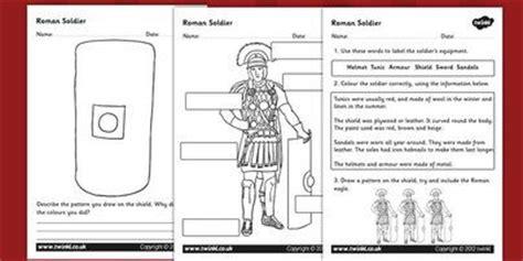 soldiers worksheet romans soldiers
