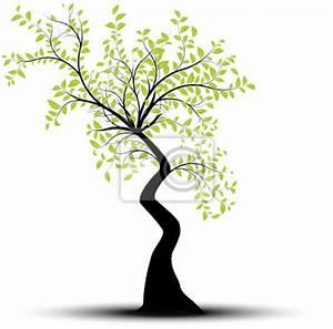 Papier Peint Arbre Noir Et Blanc : papier peint vecteur s rie arbre vectoriel noir et vert sur blanc rayon ~ Nature-et-papiers.com Idées de Décoration