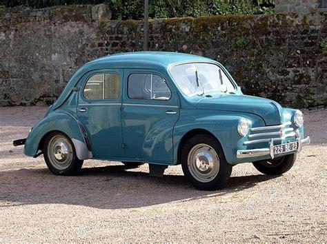 Renault 4cv -1946 My Little Blue Renault Was A 4 Door