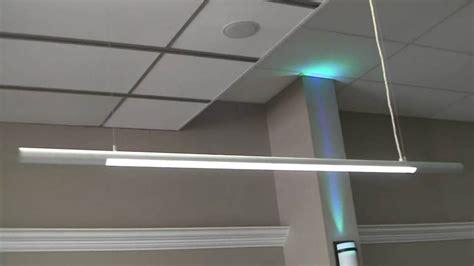pendant light slim led hanging pendant lights for office or garage