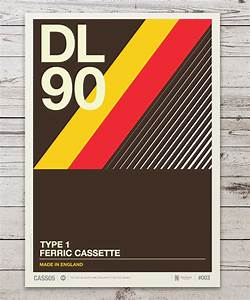 Retro Design Of Cassette – Fubiz Media