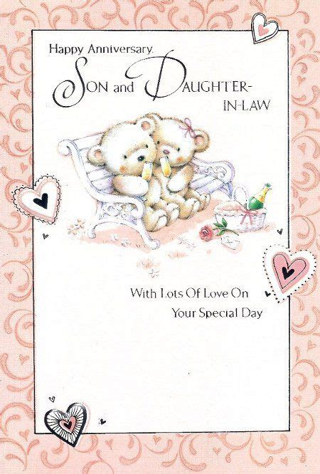 happy anniversary wishes  son happy anniversary son  daughter  law bench recipes