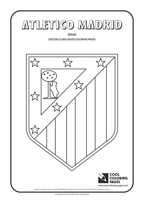 Dortmund Kleurplaat by Atletico Madrid Logo Coloring Coloring Page With