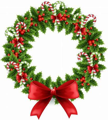 Wreath Clip Garland Clipart Circle Decoration Merry