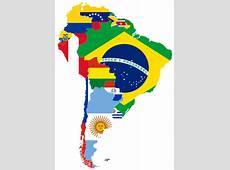 América del Sur Mapas y Banderas
