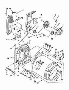 Whirlpool Model Wgd4800xq1 Residential Dryer Genuine Parts