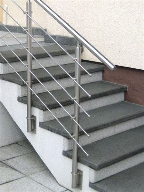 stainless steel banister stainless steel handrail moderna steel stair railing