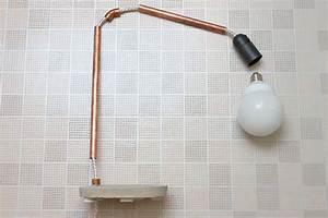 Lampe Aus Kupferrohr : lampe aus kupferrohr bauen wohn design ~ Frokenaadalensverden.com Haus und Dekorationen