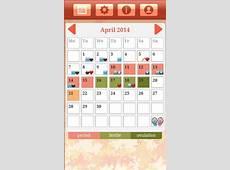 Ovulation & Period Calendar screenshot