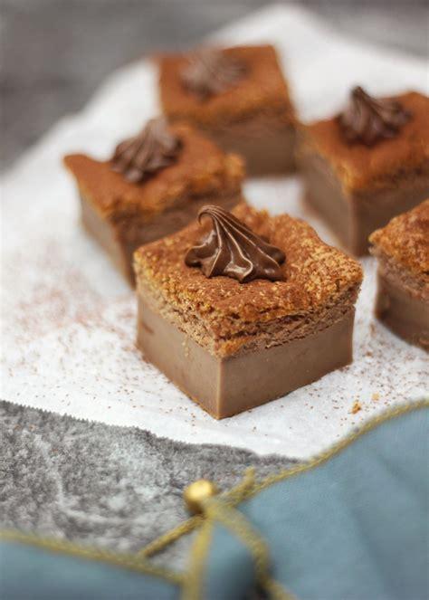 hervé cuisine buche marron gâteau magique au chocolat régal