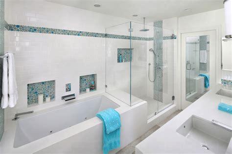 pictures of bathroom tile ideas 23 banheiros com pastilhas lindas arquidicas