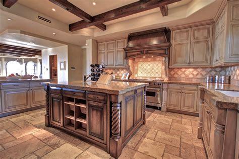 Kitchen Bar Rustic Kitchen With Distressed Kitchen