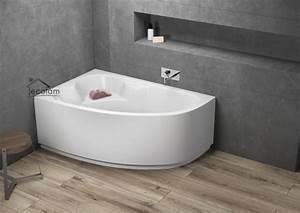 Acryl Badewanne Reinigen : badewanne eckbadewanne acryl 140 x 80 90 cm sch rze ~ Lizthompson.info Haus und Dekorationen