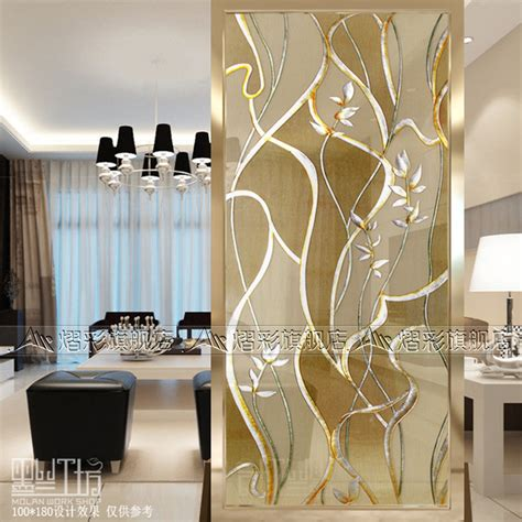 Trennwand Glas Wohnzimmer by Usd 184 66 Glass Entrance Background Wall Living