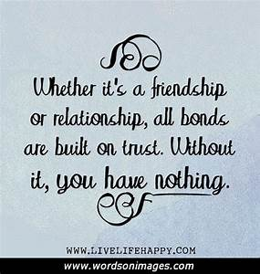 Friend Trust Quote: Quotes about trusting friends quote ...