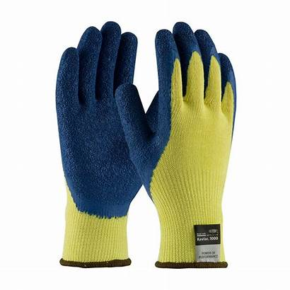 Gloves Kevlar Cut Resistant Latex Coated Industrial