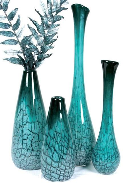 Teal Colored Vases pin by kattenbelt on teal beautiful