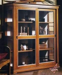 Vitrine En Bois : vitrine bois doris argentier ~ Teatrodelosmanantiales.com Idées de Décoration